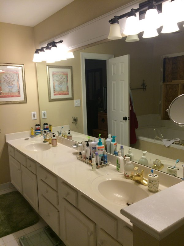 BEFORE- Bathroom Remodel