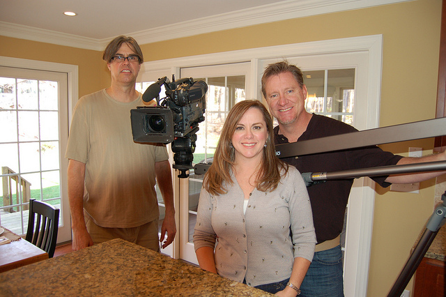 Homeowner_Cammy_Agraz_with_HGTV_Producer_and_Photographer