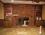 Family Room Remodel Before 07