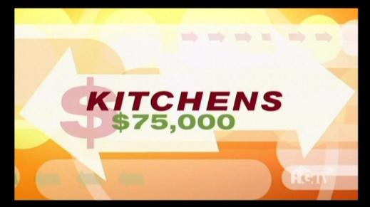 As seen on HGTV Kitchens