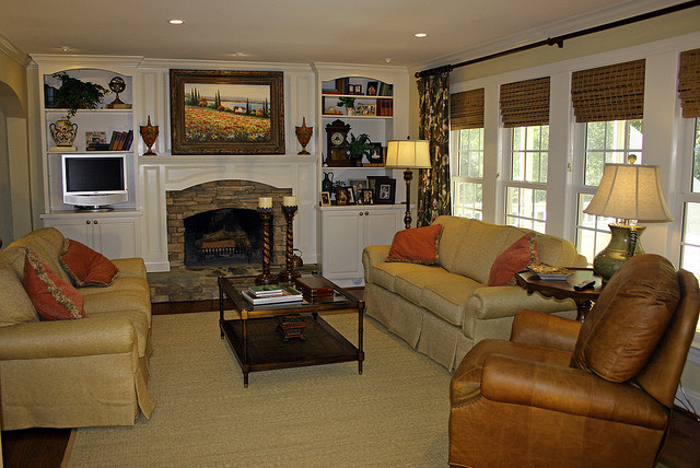 After Whole House Remodel - Family Room
