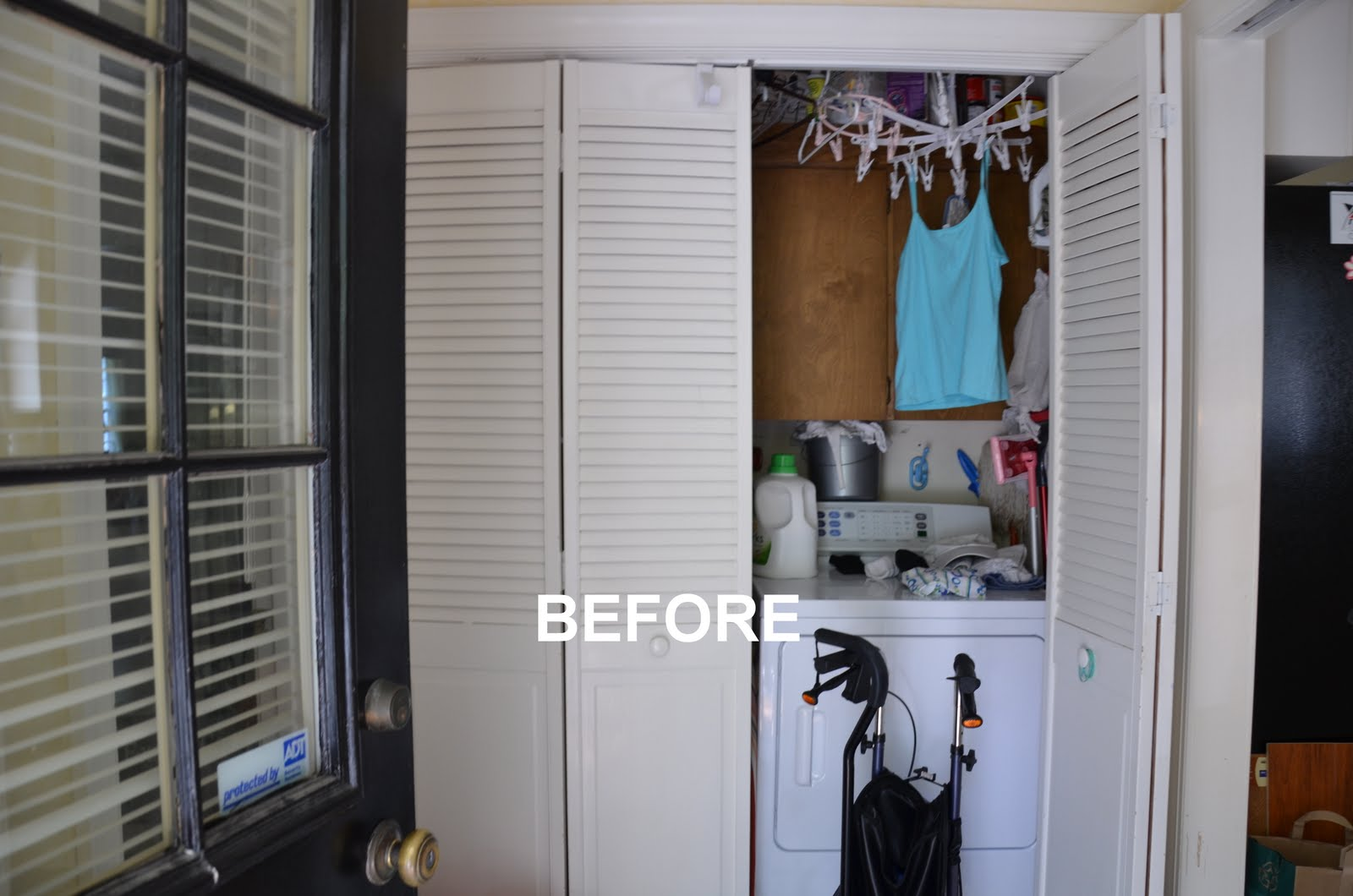 Before Whole House Remodel - Laundry Room