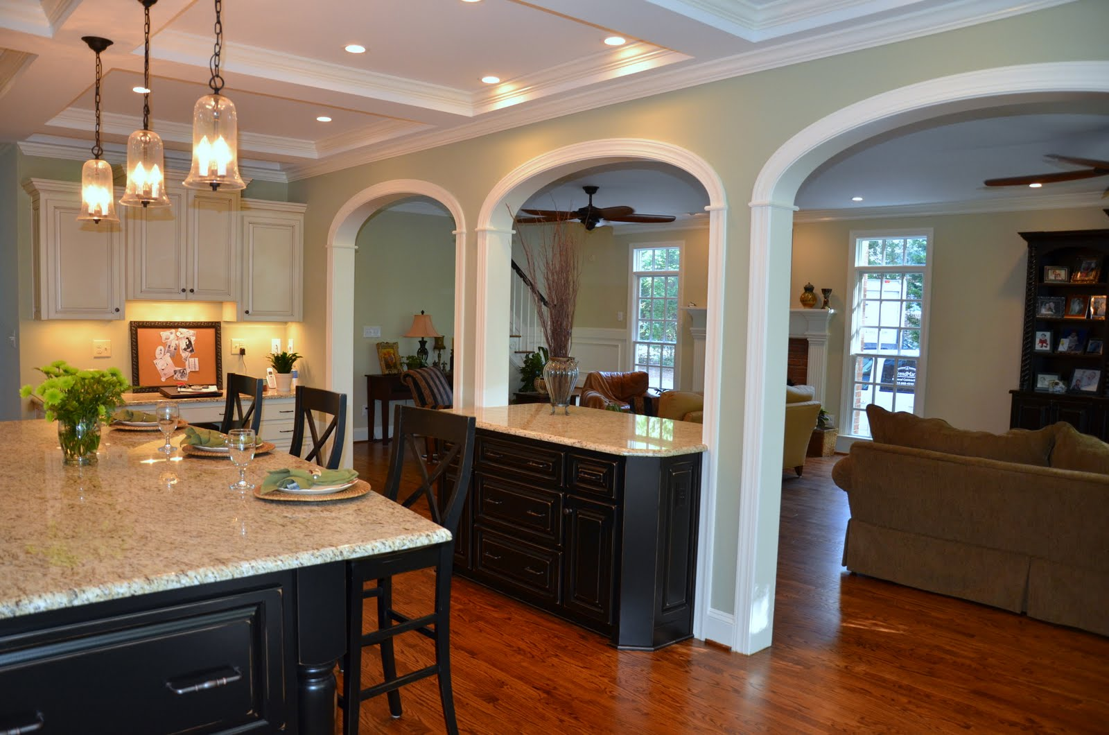 Whole House Remodel - Family Room & Kitchen