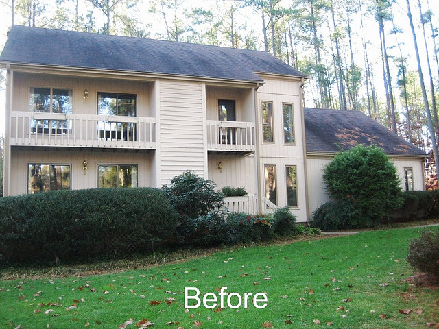 Before Whole House Remodel - Exterior Facelift