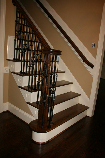 After Whole House Remodel - Staircase
