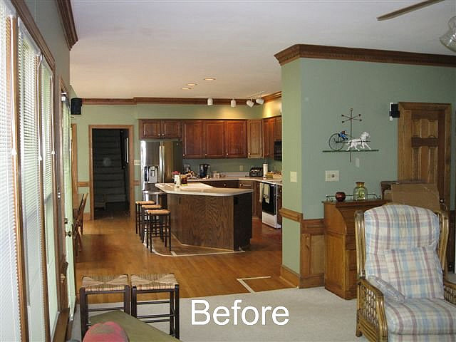 BEFORE - Picardy Kitchen Remodel