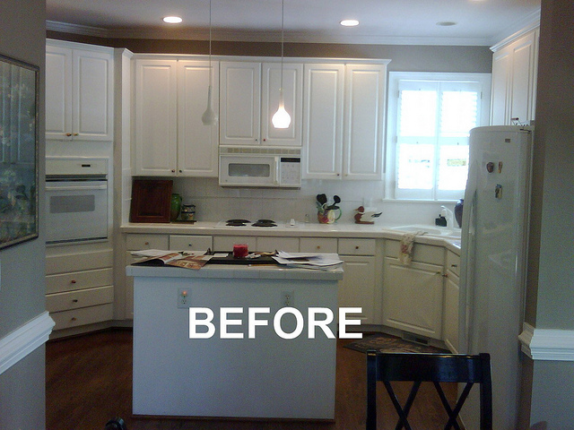 Before Kitchen Remodel - Gold STAR Award Best Kitchen