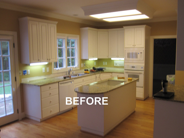 BEFORE - Kitchen Remodel