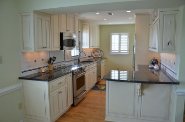 AFTER - Galley Kitchen Remodel