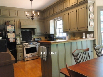 BEFORE - Colonial Kitchen Remodel