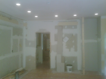 During Kitchen Remodel