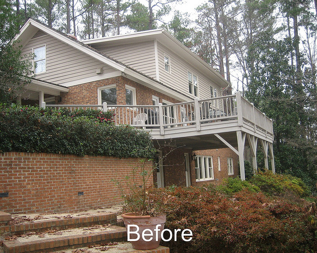Before Porch and Terrace Addition
