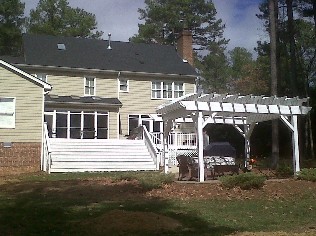 Before Porch and Deck Addition