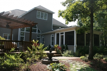 After Screen Porch & Deck Addition