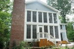 AFTER - Rear porch addition