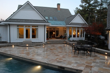 After Pool and Porch Addition - Gold STAR Award