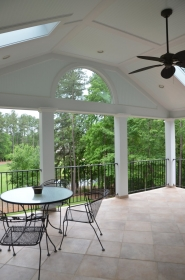 Second Story of Porch Addition