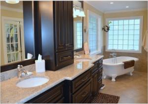 2016 Harrison Home Tour-bathroom double sink www.TrendMarkInc.com