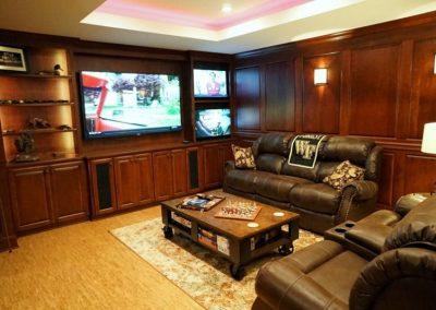 Remodeled basement addition