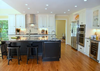 Lochmere open concept kitchen